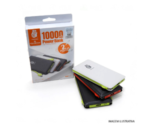 CARREGADOR PORTÁTIL POWER BANK 10000 H MASTON