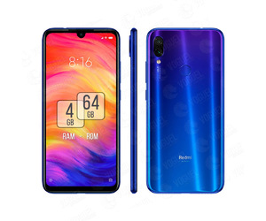 CELULAR REDMI NOTE 7 NEPTUNE BLUE 4GB RAM 64GB ROM VERSÃO GLOBAL