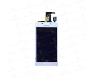 DISPLAY COMPLETO SONY XPERIA M2 AQUA (D2403/D2406) BRANCO