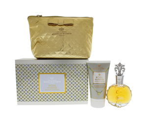 KIT MARINA DE BOURBON ROYAL MARINA DIAMOND FEMININO EDP 100 ML E LOÇÃO 150 ML