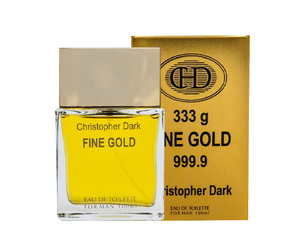 PERFUME CHRISTOPHER DARK FINE GOLD EDP MASCULINO (SEMELHANTE 1 MILLION) 100 ML