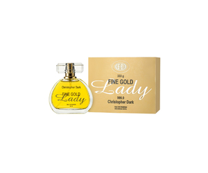 PERFUME CHRISTOPHER DARK FINE GOLD LADY EDP FEMININO 100 ML