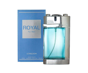 PERFUME ROYAL FOR MEN LONKOOM EAU DE TOILETTE MASCULINO (SEMELHANTE POLO BLUE) 100 ML
