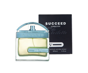 PERFUME SUCCEED LONKOOM EAU DE TOILETTE MASCULINO (SEMELHANTE 1 MILLION) 100 ML