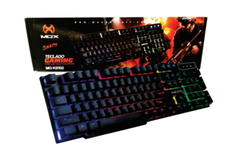 TECLADO GAMER MOX C/ LED MO-KB150